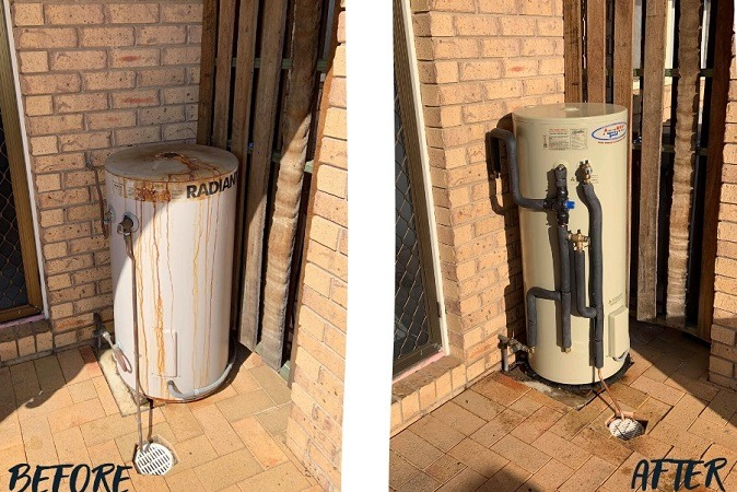 hot water systems Toowoomba